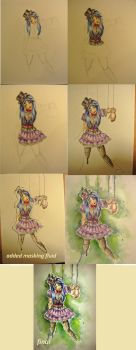Creepy doll step by step by A-Marry