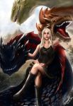 The Mother of the Dragons by MarinankeArt