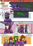 Misterios en Robotech2- Comic by Ameban