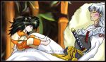 Rin Inuyasha Adult Rin And Sesshomaru | RM.