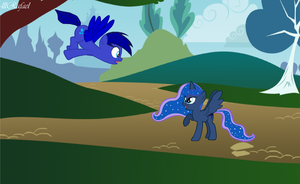 Princess Luna , What Happened to You ? by lllRafaelyay