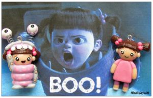 Chibi Charms: Monster's Inc. Boo by Marielishere