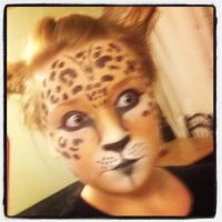 Cheetah make up by makingitup01