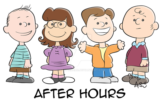 Peanuts After Hours by AuntieMeme