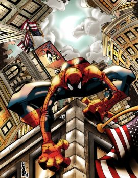 Spidey on Watch by herms85