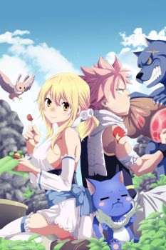 Cover Fairy Tail by humbertox1