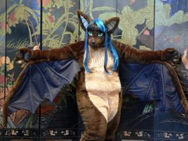 Indivara the Evening Bat by Fursuit