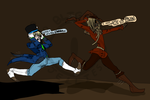 Run For Your Life by cynicalDollmaker