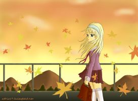 Autumn Sunset by sothis27