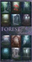 Forest Secrets backgrounds by moonchild-ljilja