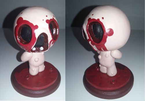 (Binding of Isaac) Mr. Maw Sculpture by Skafandra206