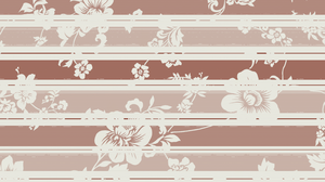 Cream Flowers Wallpaper by StrawberryHollow