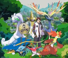 DeviantID - Pokemon X Team