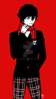 [Persona 5] Scarf by IsaCrisis