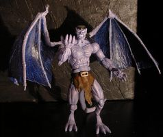 Gargoyle Goliath custom figure by CreatureSH