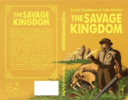 The Savage Kingdom [cover] - Carlo Schefter by GuyFauxBooks