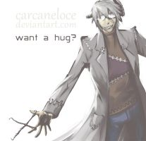 Want A Hug? by Carcaneloce