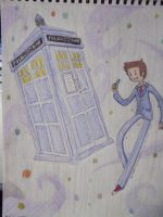 It's Space Time! Doctor Who and the Tardis by Apathetic-Doodle