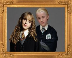 Draco and Hermione by Jackunzelforever123