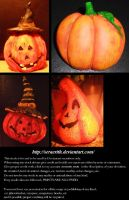 Pumpkins by Seraerith-stock