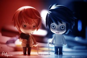 Death Note: Light vs L by M-Nirvana