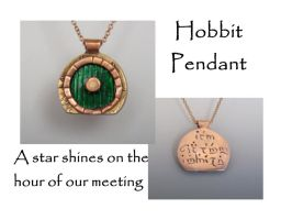 Hobbit Pendant by Peaceofshine
