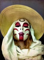 Painted Lady Mask: Full View by MonicaMcClain