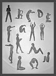 The Human Alphabet - 1 by geralin