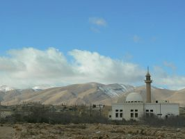 Syrian Mosque by IronMantis