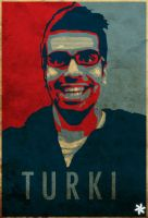 Turki - Poster by anmarwal