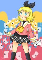 Rin Kagamine - The Weekend Is Coming by Gilzean