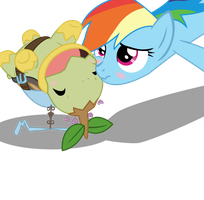 Tank's first flying lesson... by SeaAndSunshine