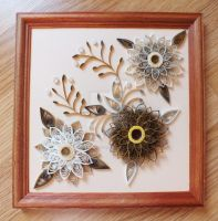 quilling picture by othewhitewizard