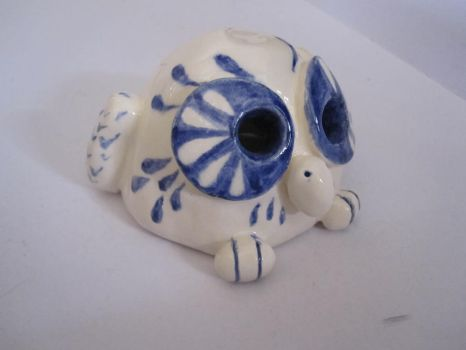 small ceramic owl by icetealover