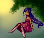 Swings and Sun by LeyRose