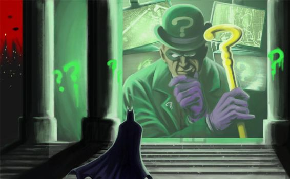 Riddle Me This, Batman... by MrSinister616