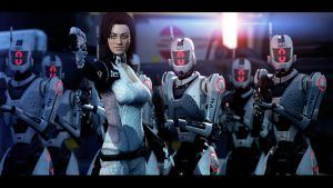 Mass Effect 3: You're surrounded by DP-films