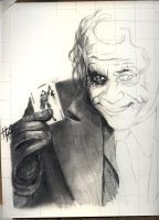 Heath as The Joker WIP 1 by thewalkingman