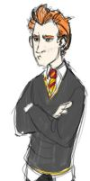 Ron Weasley by aspera