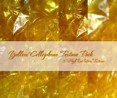 Yellow Cellophane Texture Pack by powerpuffjazz