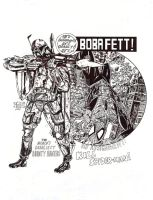 He's different, he's deadly! He's Boba Fett! by Dioworship