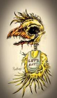 Chica The Chicken by TheFoxiee