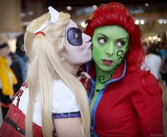 Cosplay - Poison Ivy (Arkham City) y Harley Quinn by Nagy-May