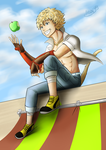 October 2014 Request: Sun Wukong by ARSONicARTZ