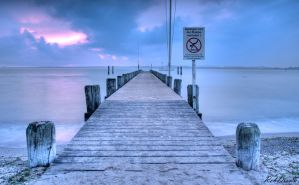 Ostsee jetty by robdrown
