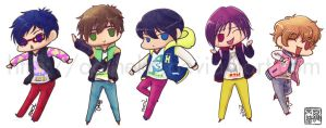 Free!: Ending Stickers by aoineko