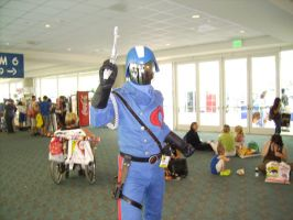 Cobra Commander was there by Cheshirefox