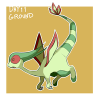 pokedddexy day 11:flygon by ScarfFetish