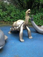 Galapagos Tortoise Statue by TAHU18