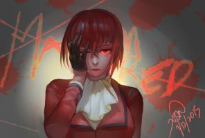 Black Butler- Madam Red by christon-clivef